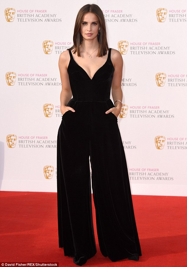 Velvet Jumpsuit on the Red Carpet.